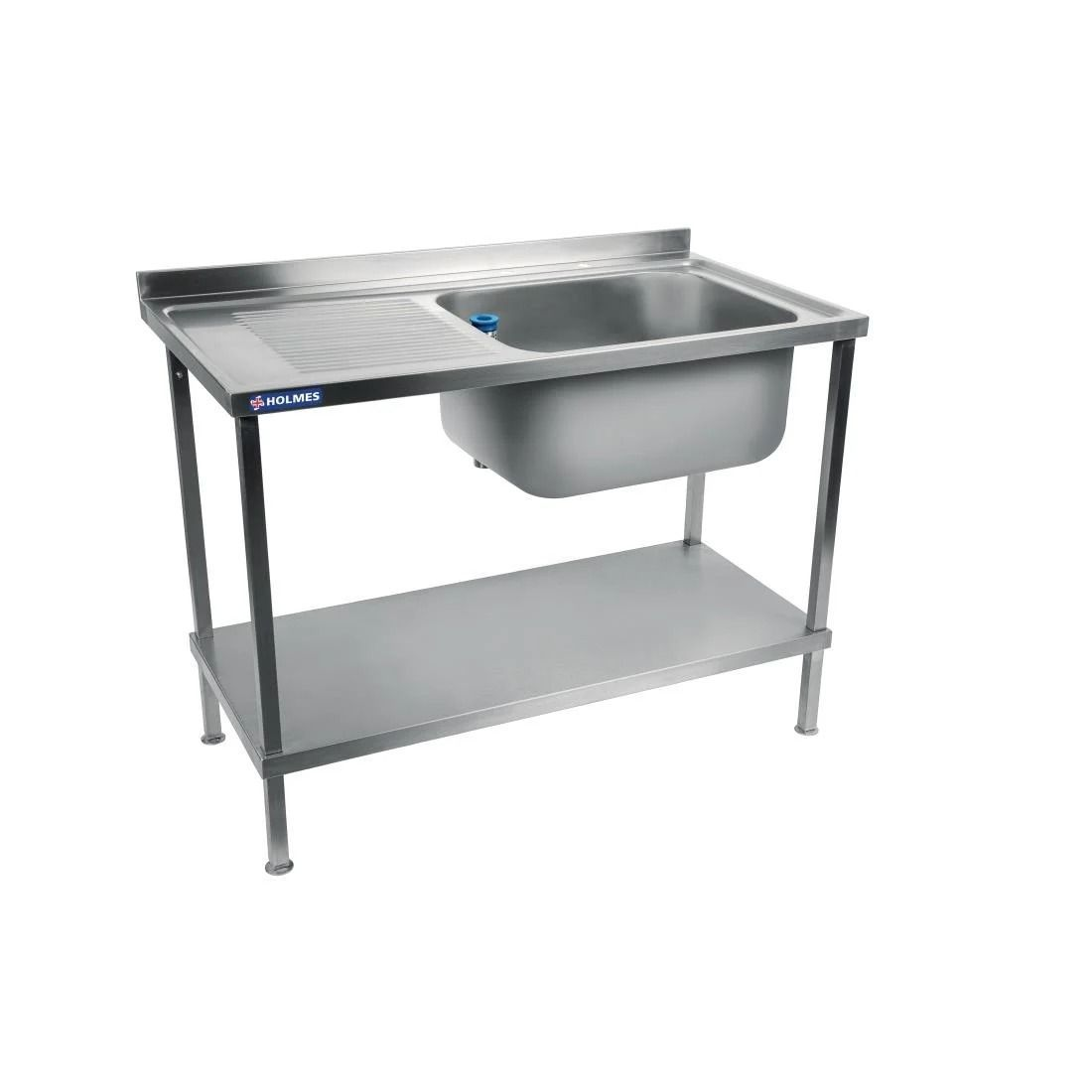 Holmes Fully Assembled Stainless Steel Sink Left Hand Drainer 1200mm - DR383